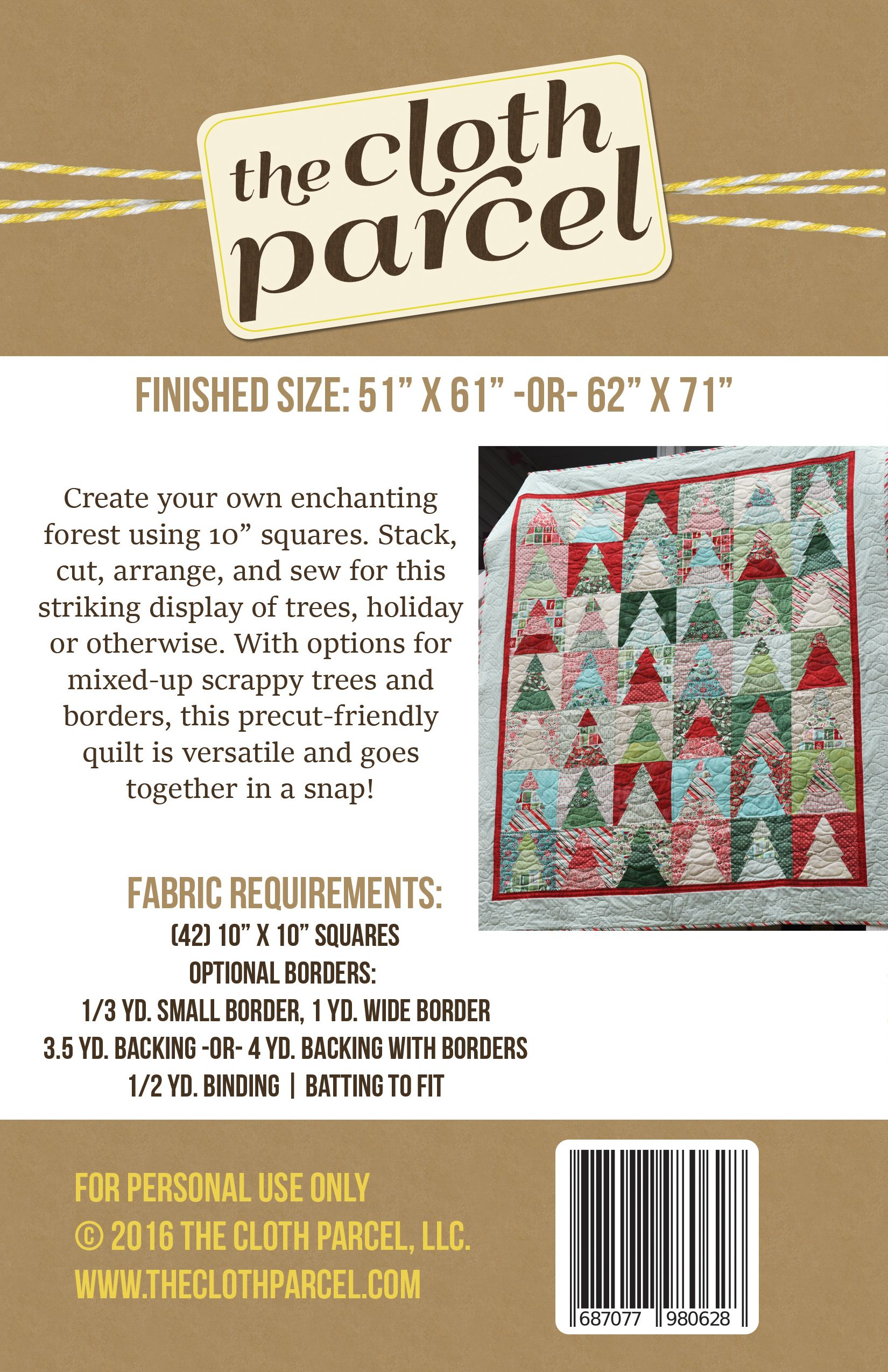 Woodland Wander Quilt - PDF Pattern | Quilt and sewing | Pinterest ...