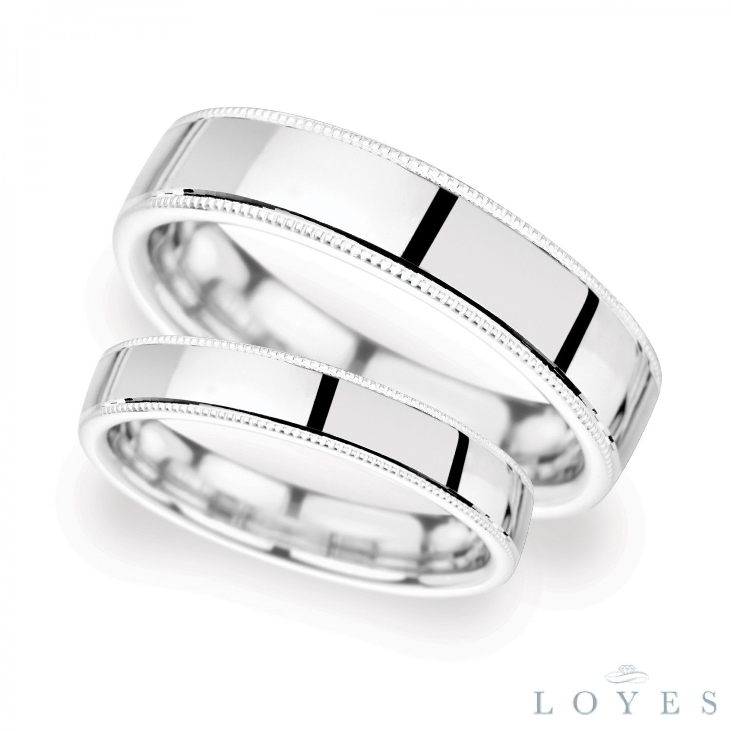 Bonnie and Clyde matching wedding rings Dublin Found on
