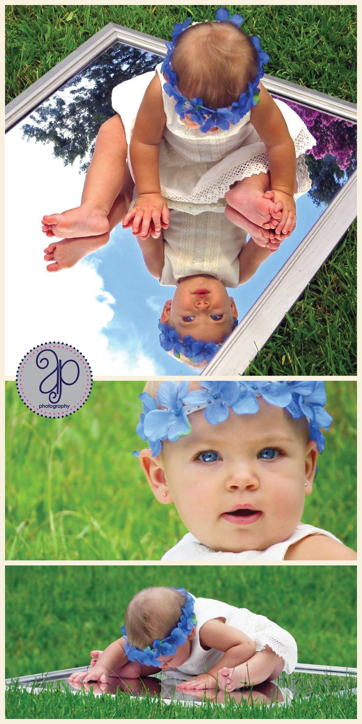 Baby Mirror Photography Idea Absolutely Love This Idea Must