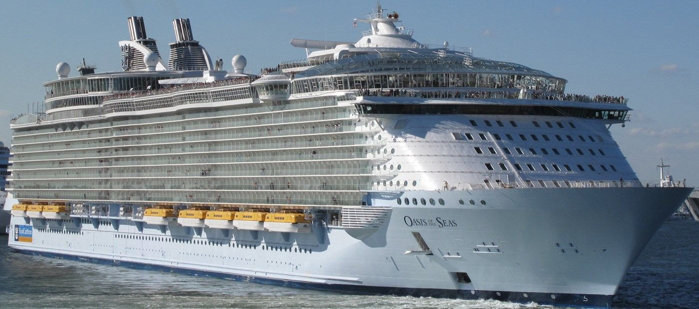 MS Oasis Of The Seas Is An Oasisclass Cruise Ship