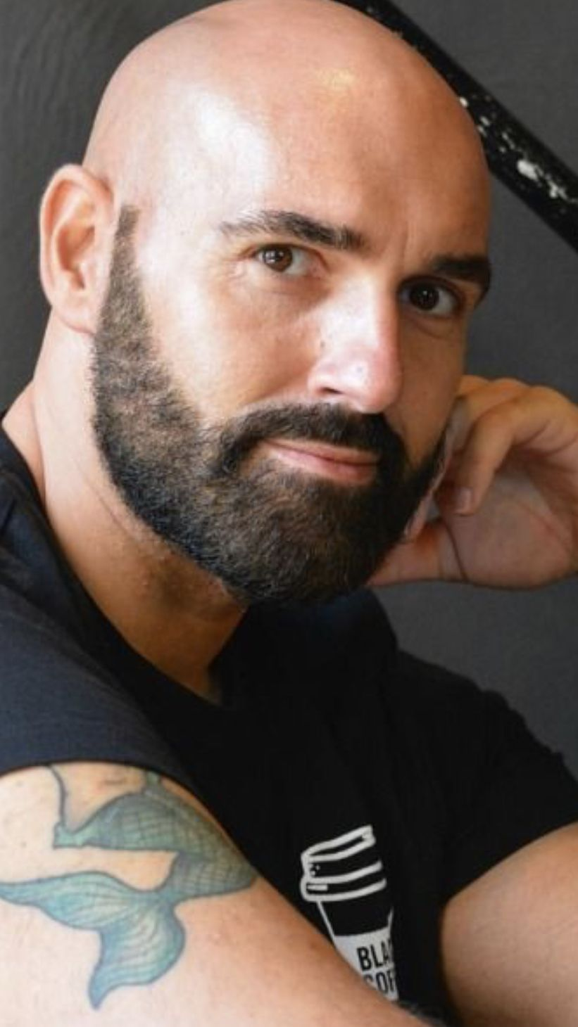 Pin By Chad Perkins On Chad S Facial Hair Intrest Bald