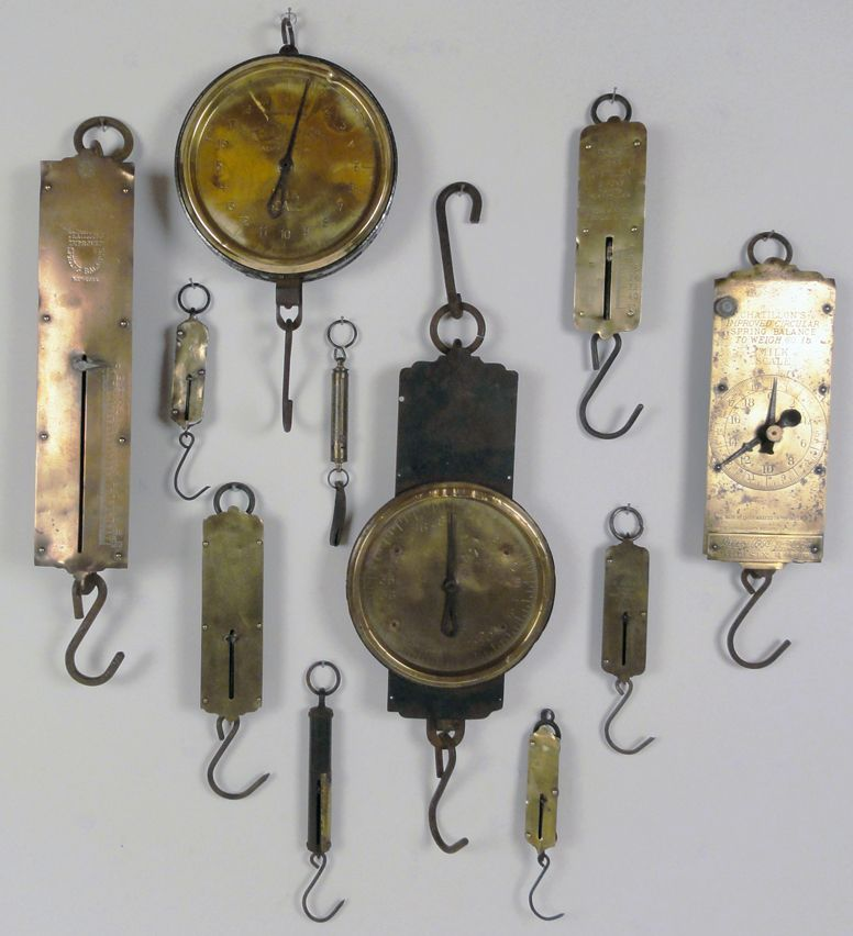 Displaying Antique Scales In Kitchen