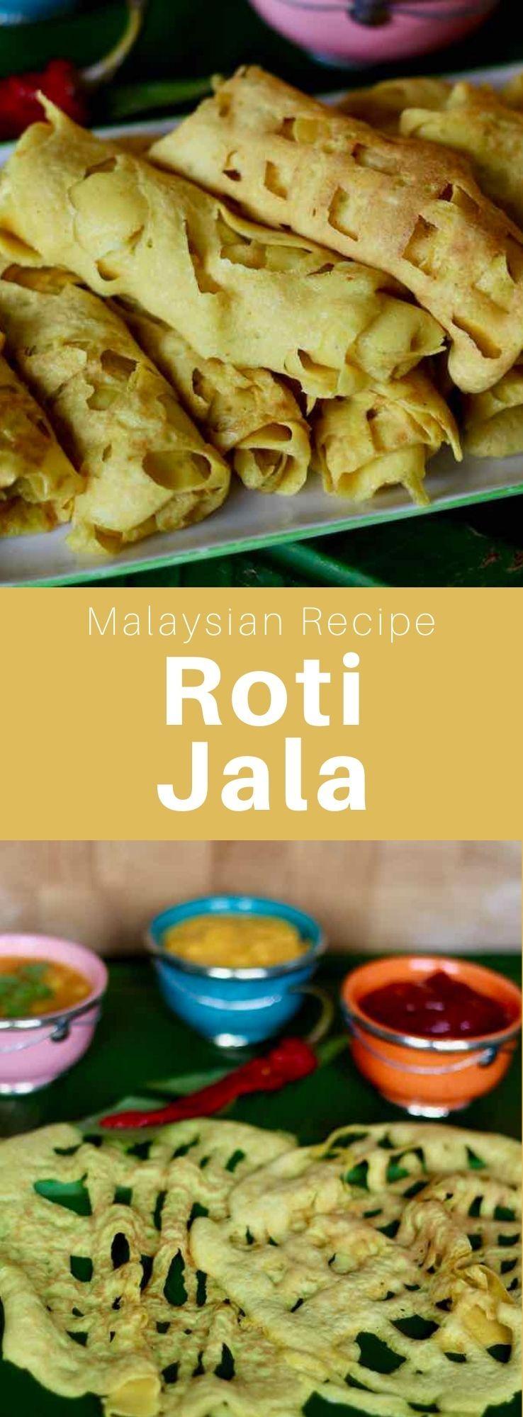 Roti Jala Roti Kirai Or Roti Renjis Is A Type Of Malaysian Lacy Crepe That Is Also Popular In Indonesia And Si Malaysian Food Malaysian Cuisine Global Cuisine