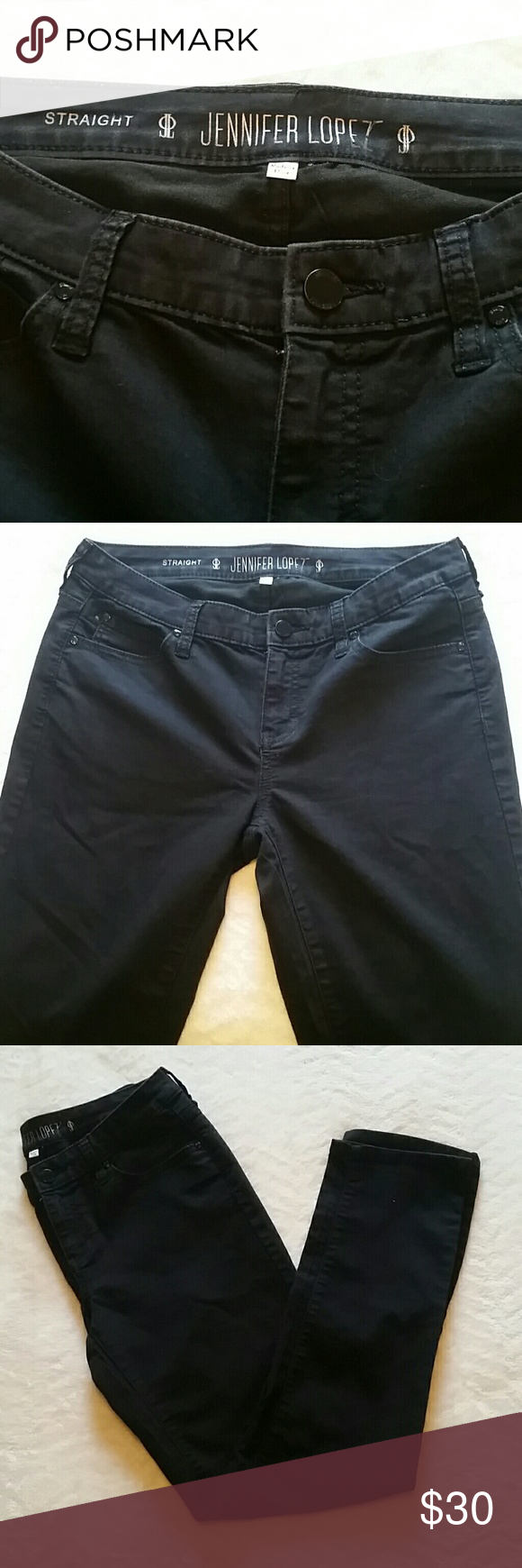 Jennifer lopez straight jeans size the inseam is approx sizing chart says  equivalent also my posh picks rh pinterest