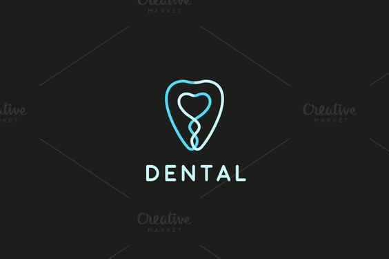 Tooth dental clinic logotype - Logos