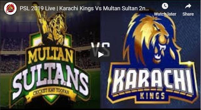Psl 2019 Live Karachi Kings Vs Multan Sultan 2nd Match Pakistan Super League Ptv Sports Live Cricket Fans From Around Multan Psl Gaddafi Stadium