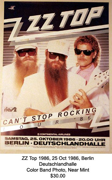 Saw these guys at the same place in Lake Tahoe a few years back. They are still hot, too! ZZTop one of my favorite bands!!!!