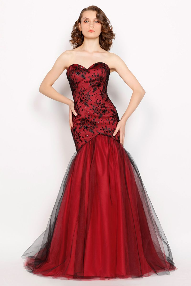 deep-red-prom-dresses- | Amazing Red Formal Dresses Ideas ...