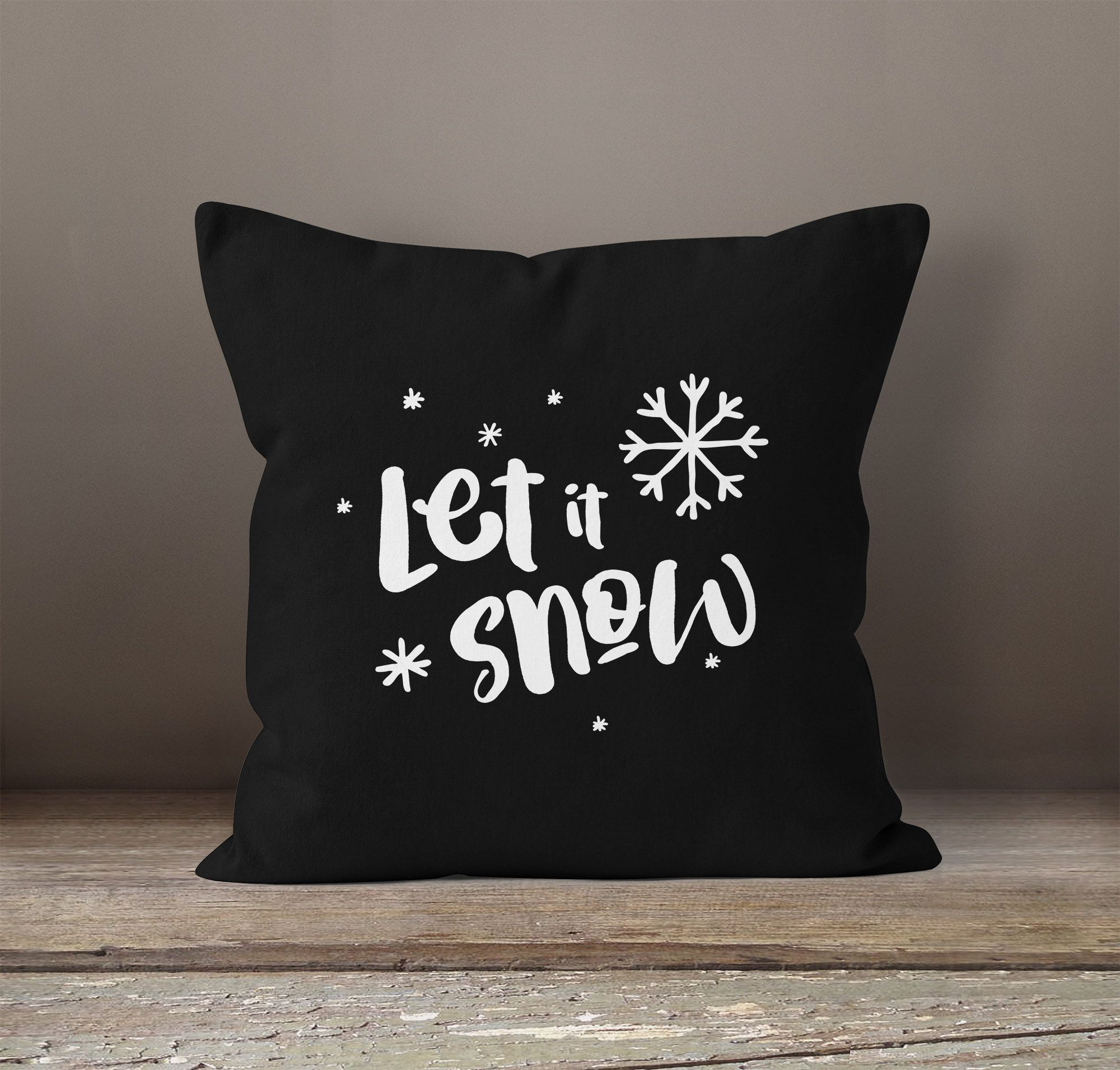 dekokissen weihnachten kissenhlle cm x cm weihnachten grau hirsch silber kissenbezug kissen. Black Bedroom Furniture Sets. Home Design Ideas