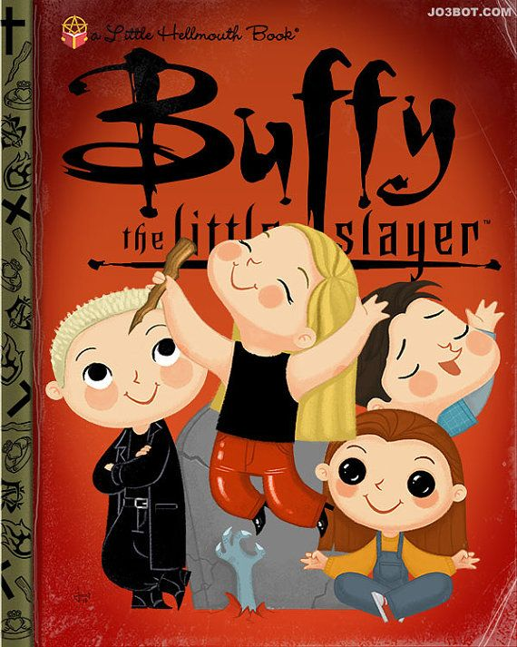 Buffy The Little Slayer Variant 8x10 PRINT by joebot on Etsy