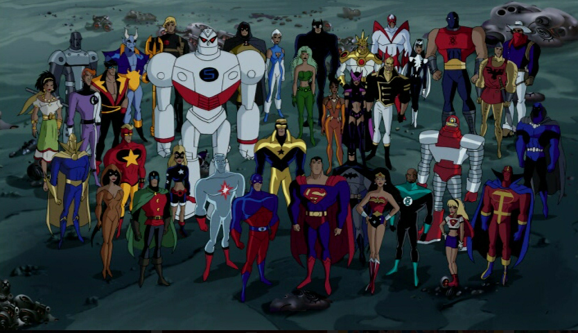 Pin By Matt Reever On Dc Justice League Animated Justice League Unlimited Justice League