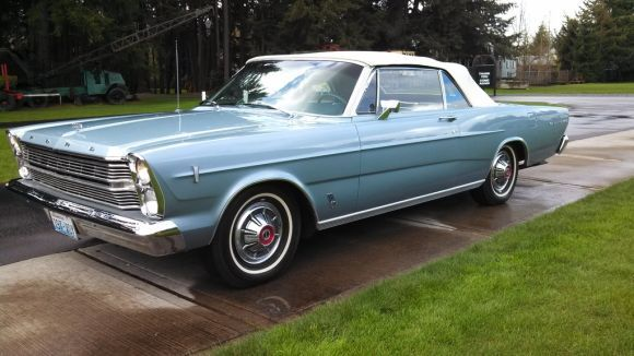 240 Miles per Year: No Reserve 1966 Ford Galaxie 500 Convertible