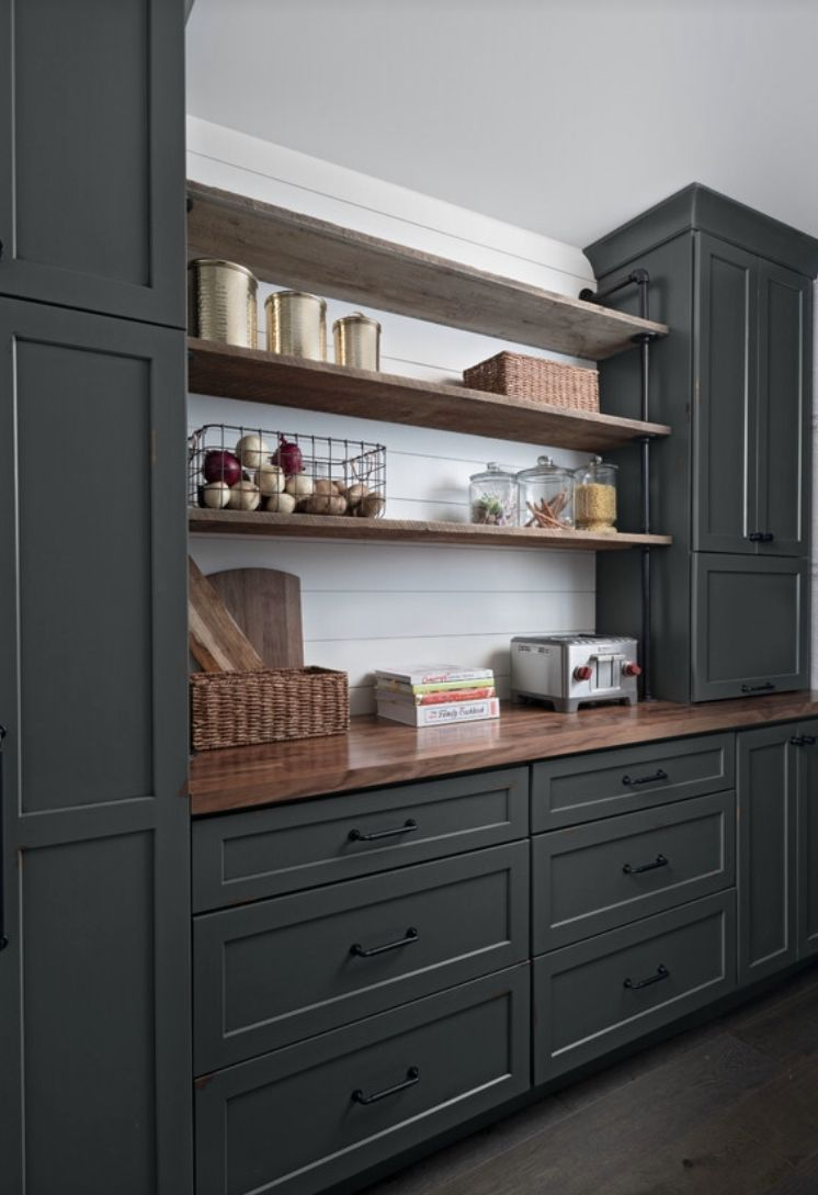 Cabinets In 2020 Pantry Decor Rustic Industrial Kitchen Cabinet