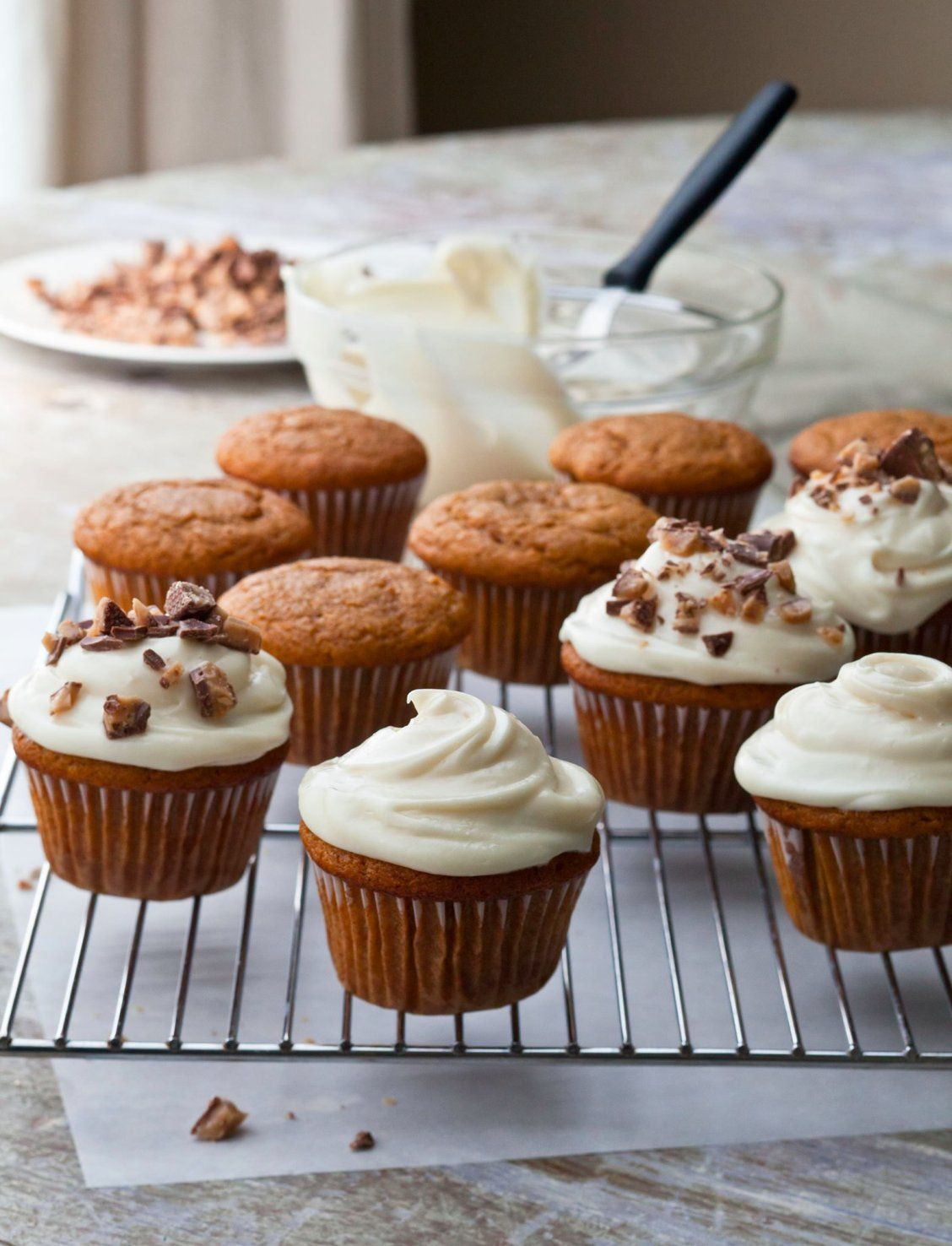 Barefoot Contessa Pumpkin Muffins Pumpkin Spice Cupcakes With Maple Frosting