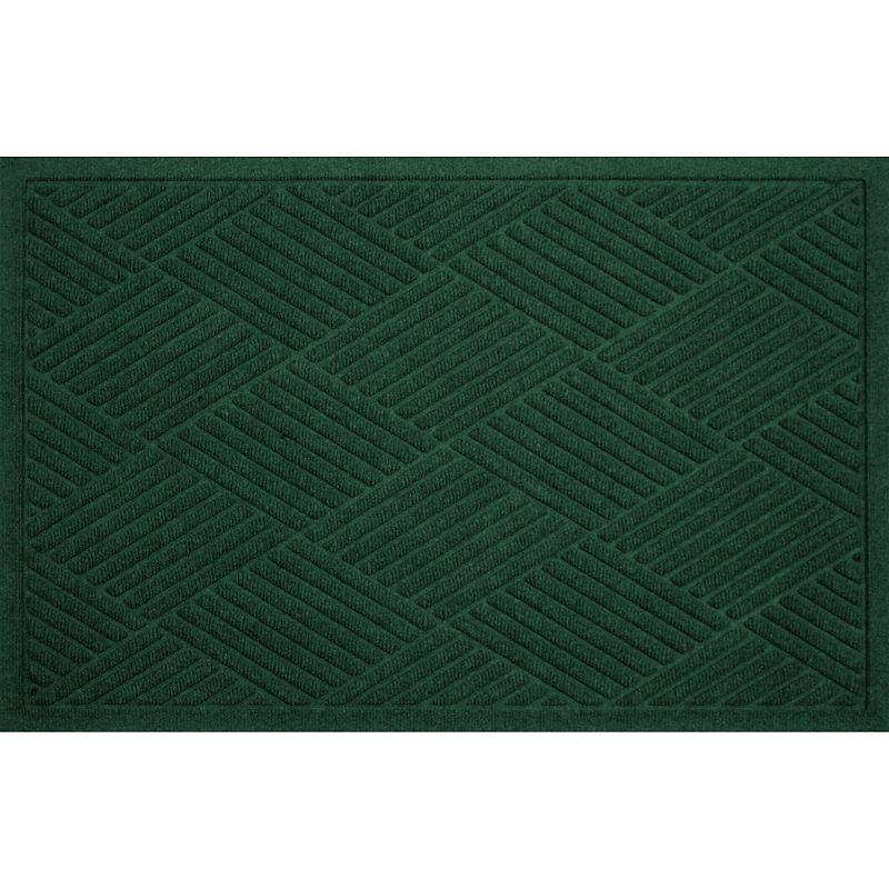 Waterguard Diamonds Indoor Outdoor Mat Green 24x39slice Diamond Pattern Cool Rugs Rug Size