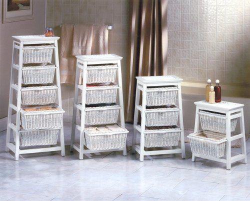 Storage Cabinet With Wicker Baskets Wicker Bedroom