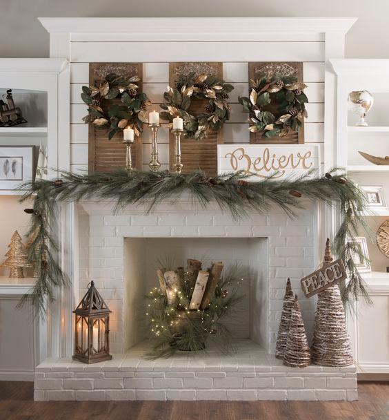 Photo of Post-Christmas Winter Mantel Inspiration