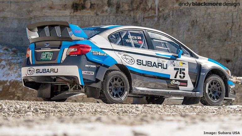 Subaru Rally Team Usa Reveals New Livery And Widebody On Their Subaru Rally Subaru Wrx Subaru