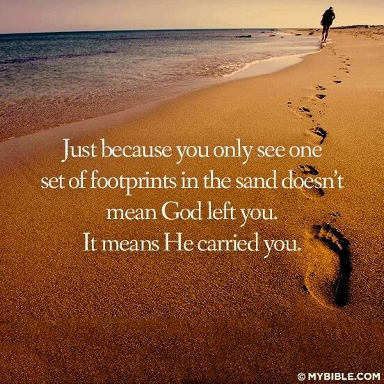 Just Because You Only See One Set Of Footprints In The