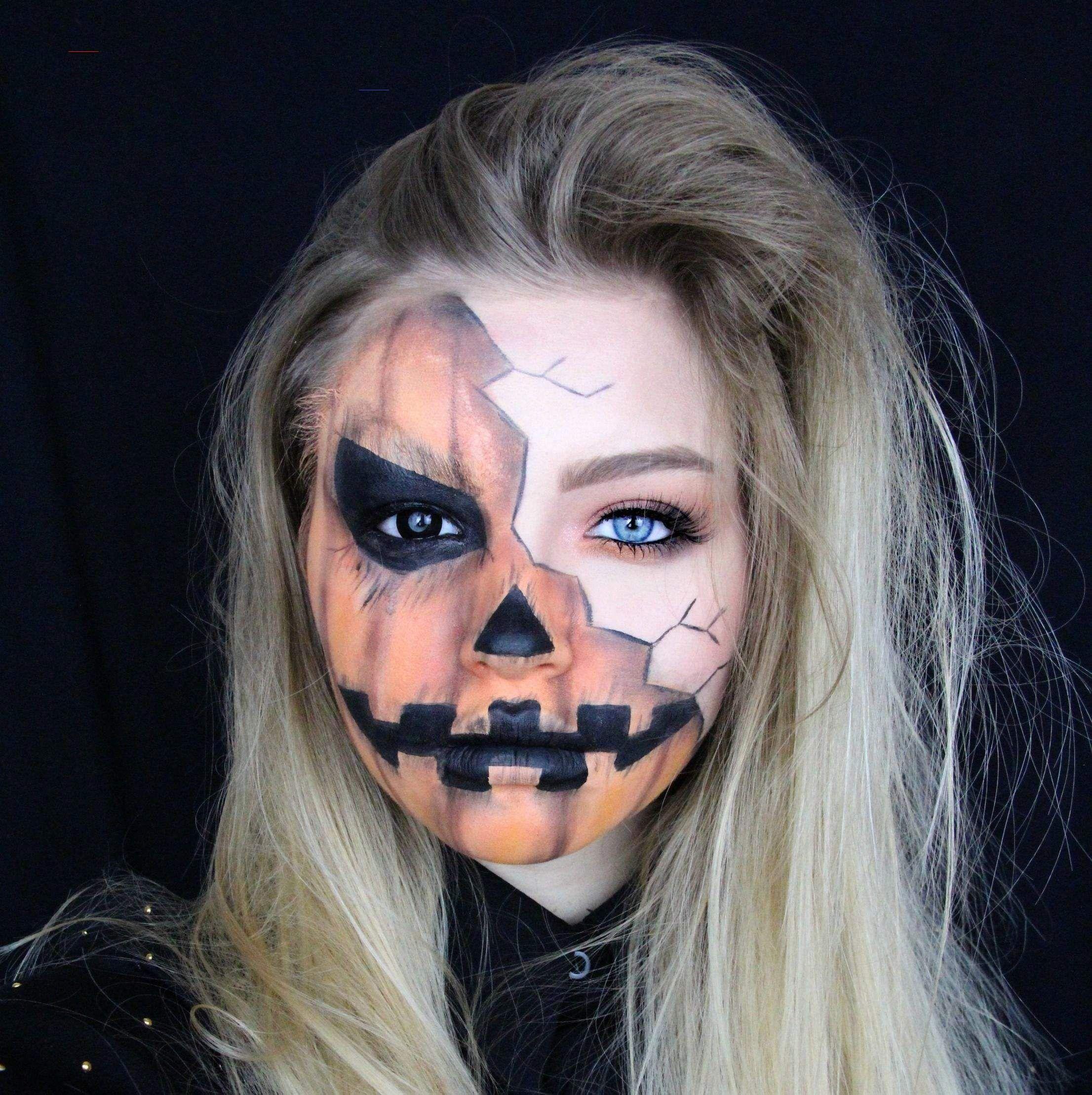 Halloween Creepy Pumpkin Makeup Tutorial myGloss