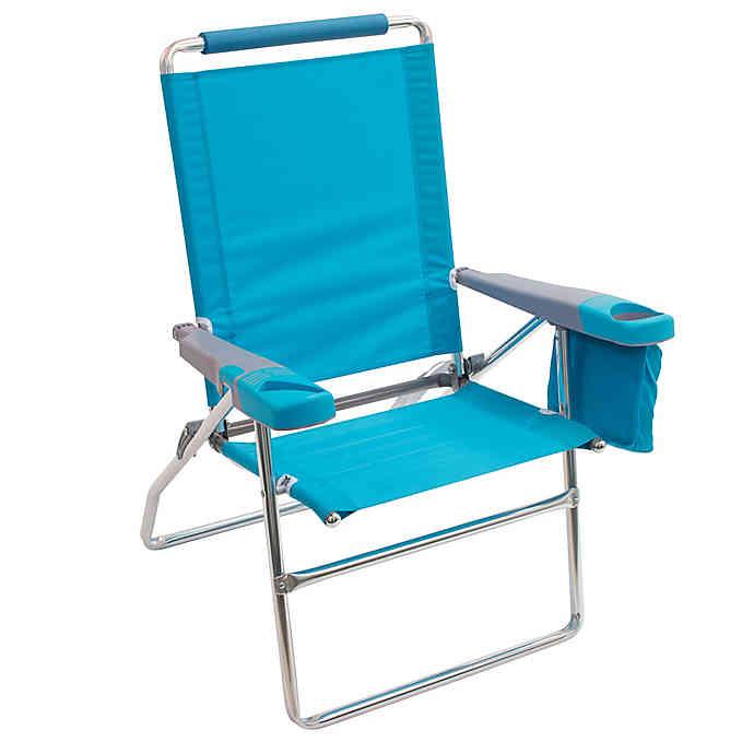 Rio Highboy Beach Chair In 2020 Beach Chairs High Back Chairs Beach Chair Umbrella