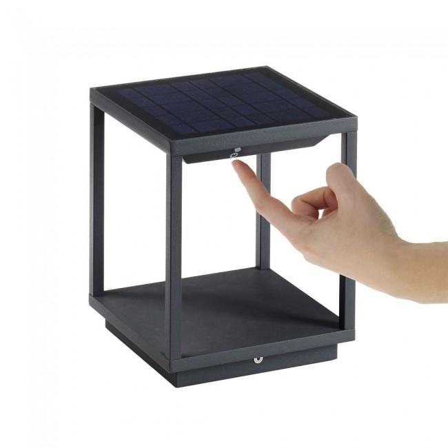 Lámpara Portátil Solar Led Solei Dopo Lamparas Es Iluminacion Solar Led Iluminación De Exterior