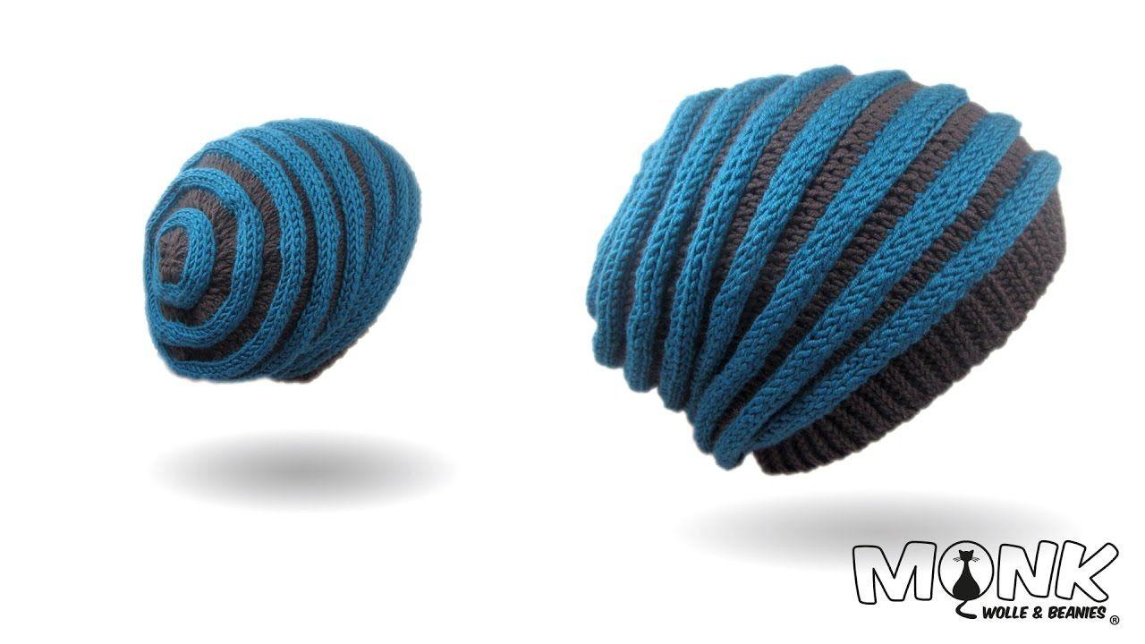 Mütze häkeln - Wurmbeanie - Wurmmütze | Handarbeiten | Pinterest ...