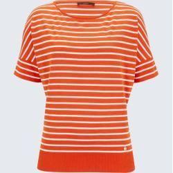 Ringelshirt in Orange-Weiß gestreift windsorwindsor