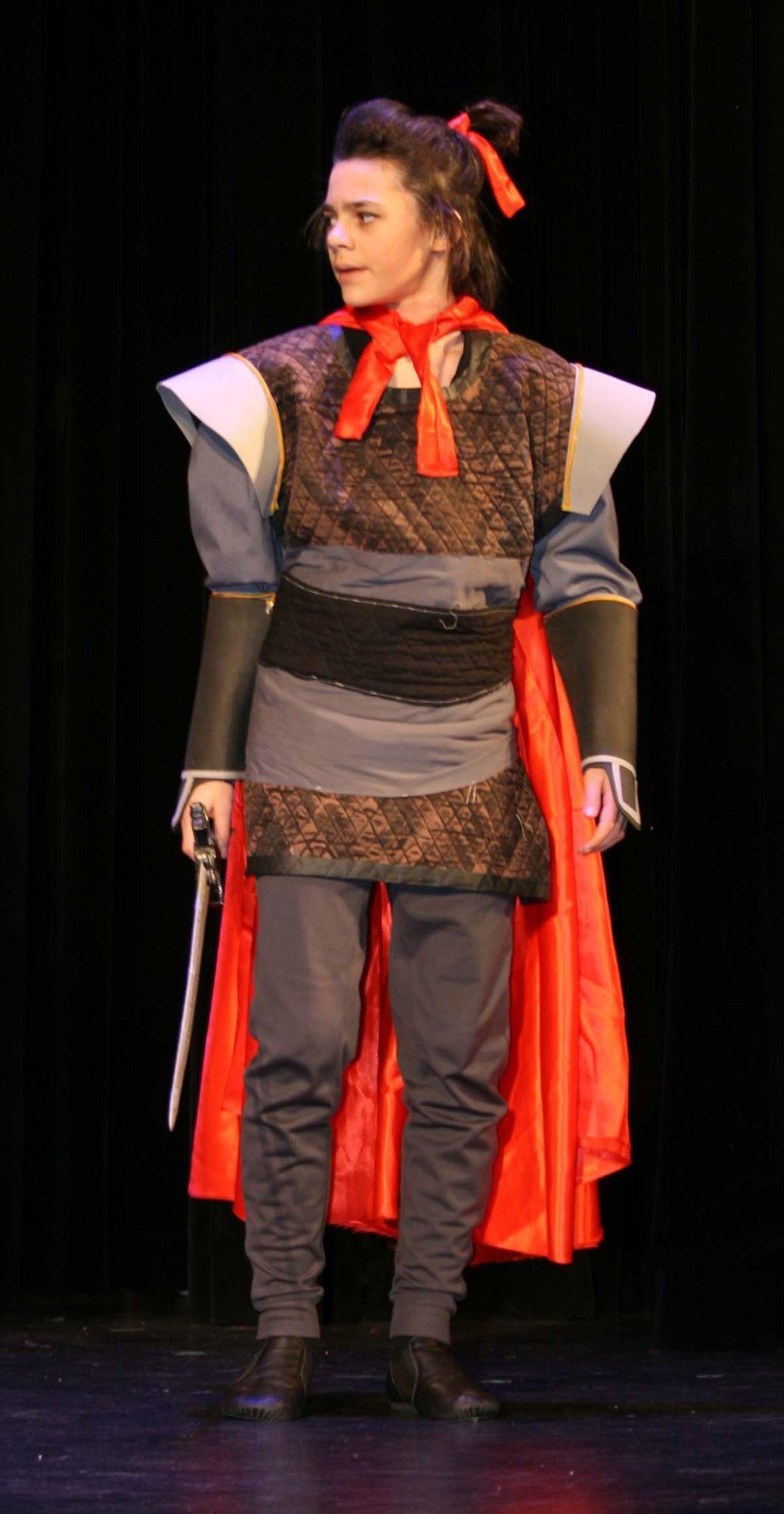 Pin On Mulan Jr Costumes