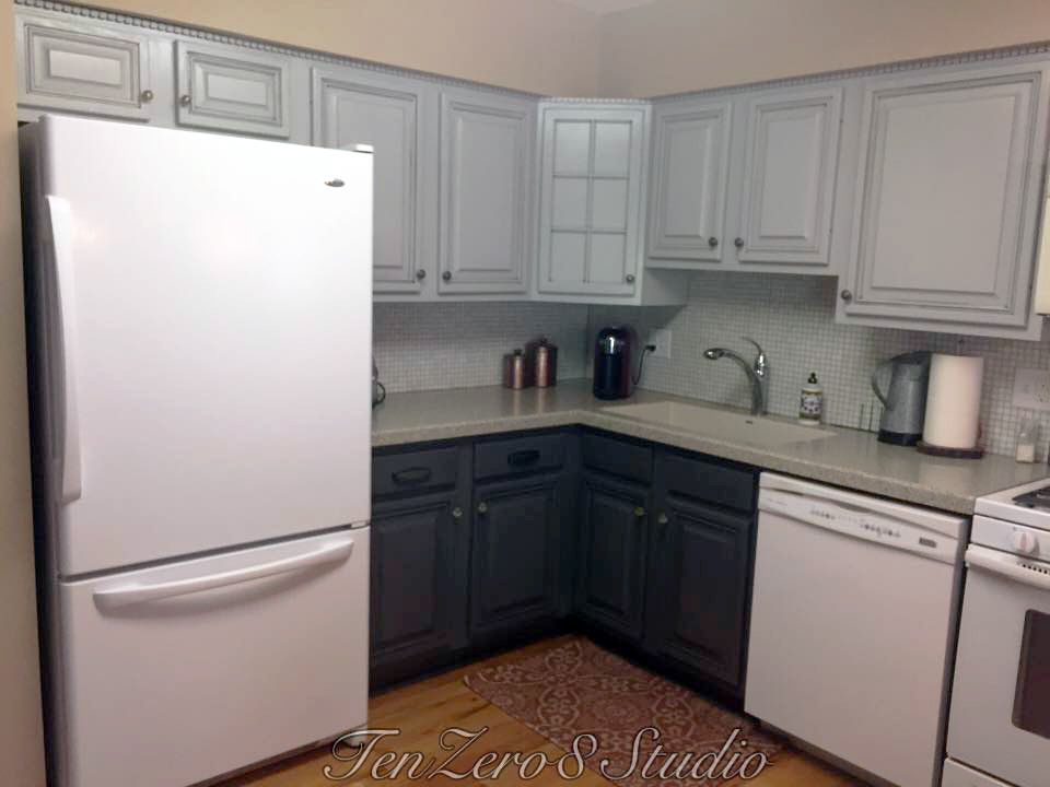 Best Seagull Gray And Driftwood Kitchen Cabinets Driftwood 400 x 300