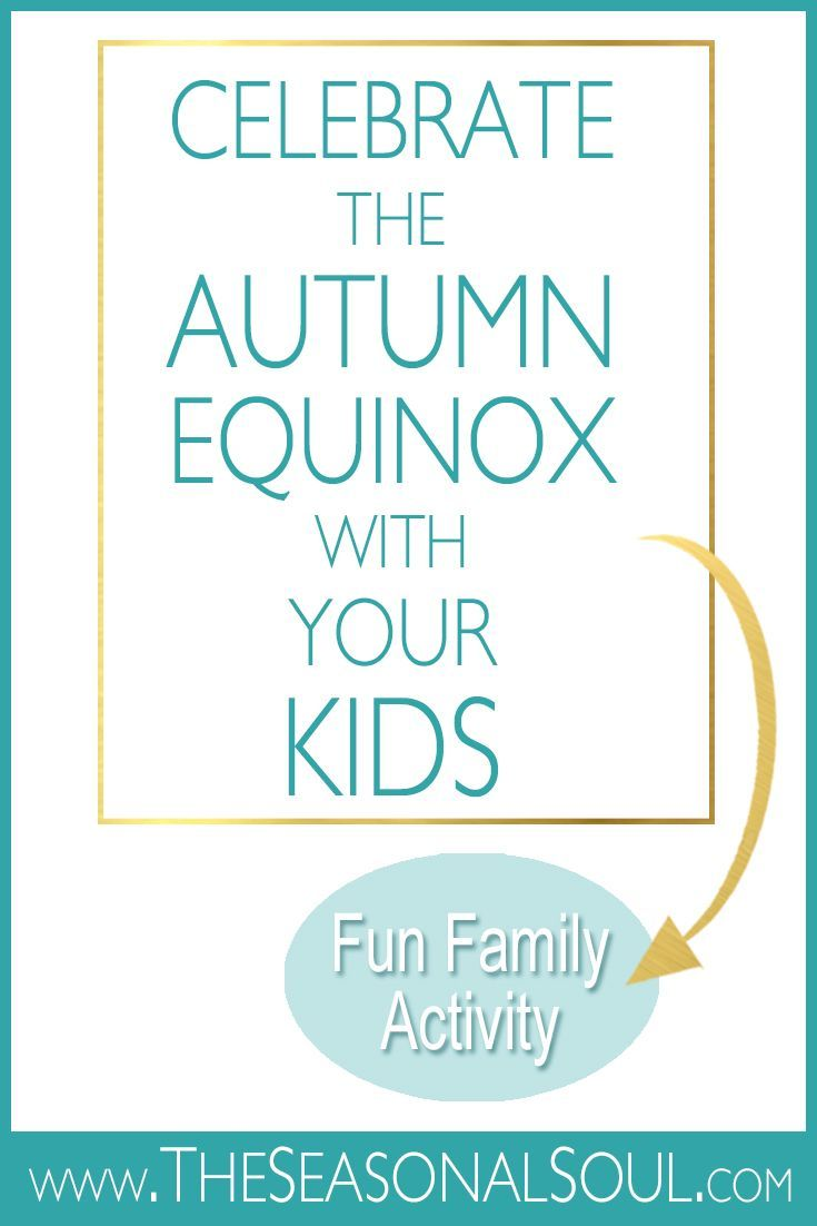A Fun Family Craft to Celebrate the Autumn Equinox with Your Kids #maboncelebration Use this Autumn Craft to celebrate the Autumn Equinox with your family. This makes a perfect Mabon Ritual for families. www.TheSeasonalSoul.com #autumnalequinox