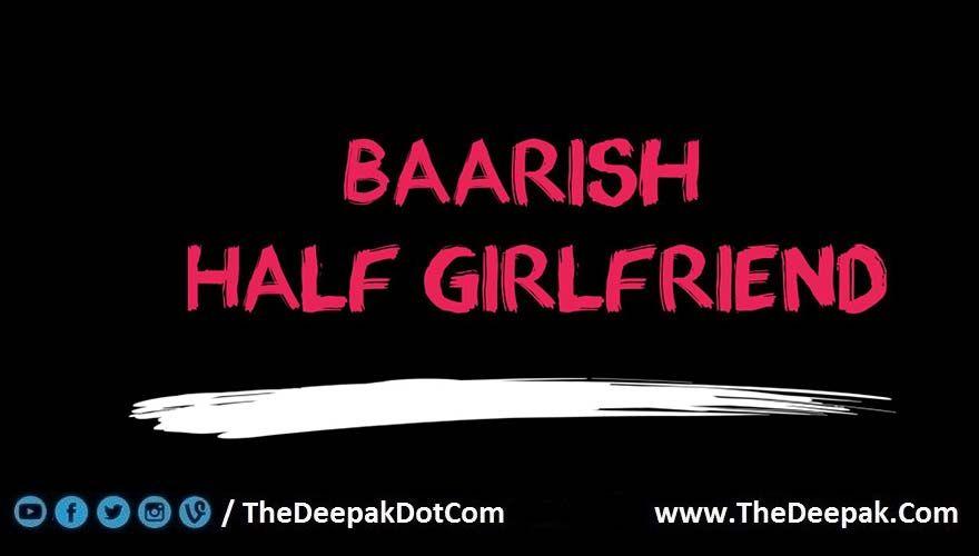 Baarish Guitar Tabs Leads Notes Half Girlfriend | TheGuitar ...
