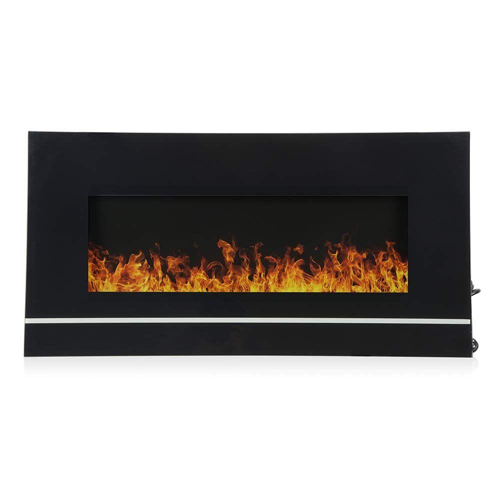 Amazon Com Ohana 50 Modern Electric Fireplace Wall Mounted