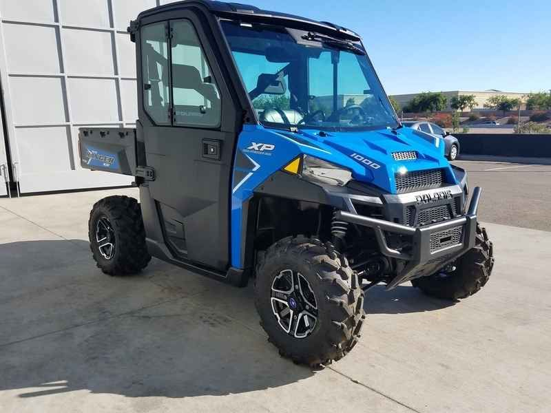 New 2017 Polaris RANGER XP 1000 EPS Northstar HVAC Editio ATVs For Sale in Arizona. 2017 Polaris RANGER XP 1000 EPS Northstar HVAC Edition Velocity Blue, 2017 Polaris® RANGER XP® 1000 EPS Northstar HVAC Edition Velocity Blue <p> Features may include: </p><ul> <li> World s Most Powerful UTV with 80 HP</li></ul><ul> <li> The World's Most Utility Power with the Precision of Class Exclusive Throttle Control Modes</li></ul><ul> <li> Northstar Edition Features: Premium Pro-Fit Cab, Fixed Glass…