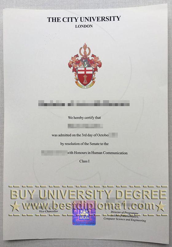 city university london fake diploma