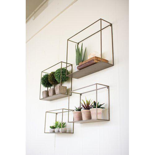 Damarcus 4 Piece Wall Shelf Set #dekorationwohnung