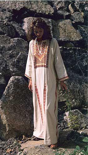 Gaza Dress on folk wear patterns website.  I like it.