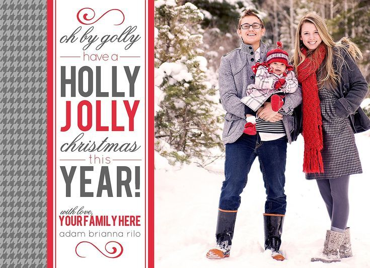 11 Templates for Creating Your Own Christmas Cards