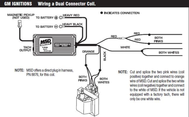 mag pick up chevy distributor wiring diagram  wiring