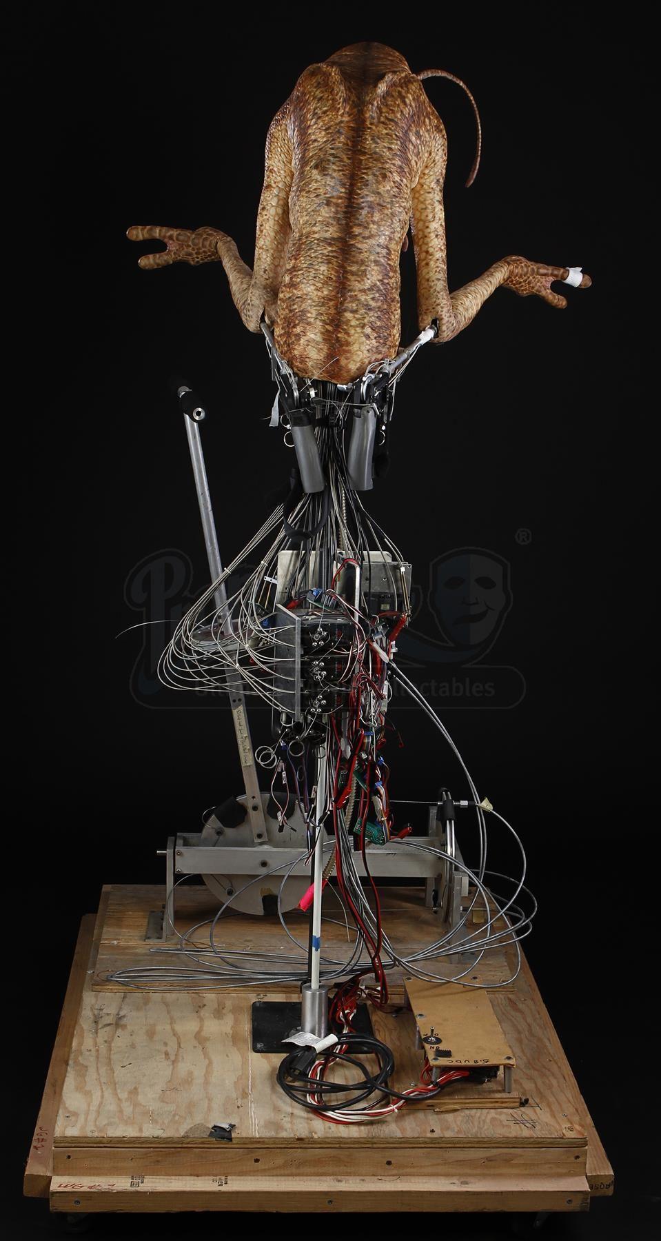 MEN IN BLACK II (2002) - Oversized Worm Guy Animatronic Insert Puppet - Price Estimate: $8000 - $10000
