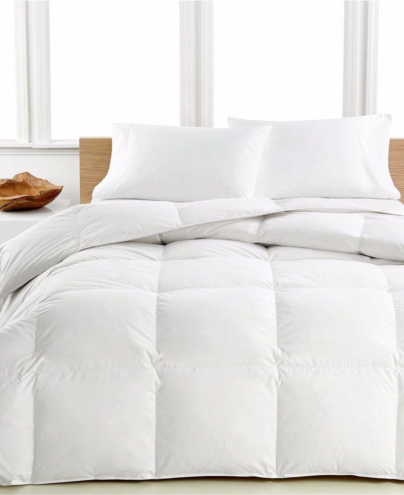 Calvin Klein Medium Warmth Premium White Down Cotton King