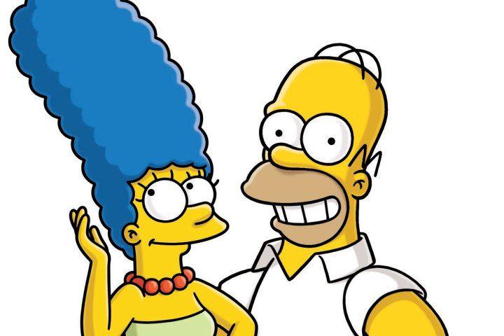 Marge y Homero Simpsons (con imágenes)   Historieta de