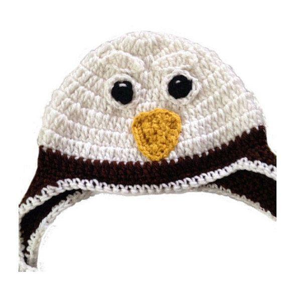 animal hat/crochet hat/eagle hat/eagle scout/crochet baby | crochet ...