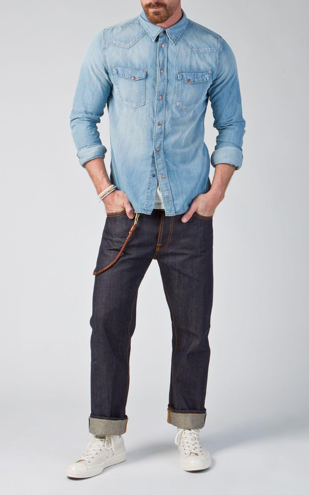 Nudie Jeans Loose Leif Dry Selvage 13.5oz