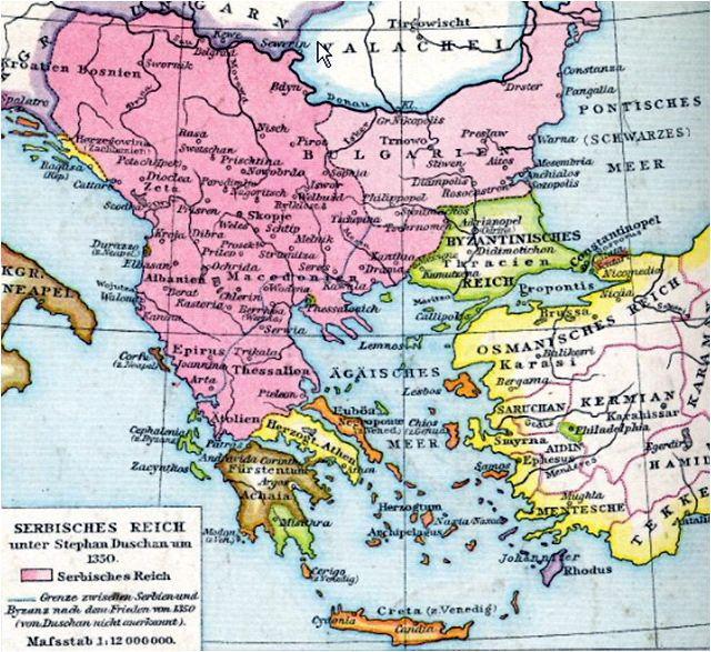 Veliko Srpsko Kraljevstvo Je Bilo Na Prostoru Danasnje Hrvatske