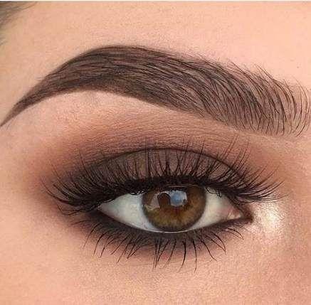 New wedding bridesmaids makeup brown eyes ideas #browneyeshadow