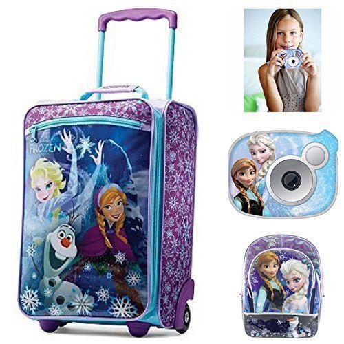 d850b7a3beb Disney Frozen Girls Luggage Travel Set - American Tourister Luggage ...