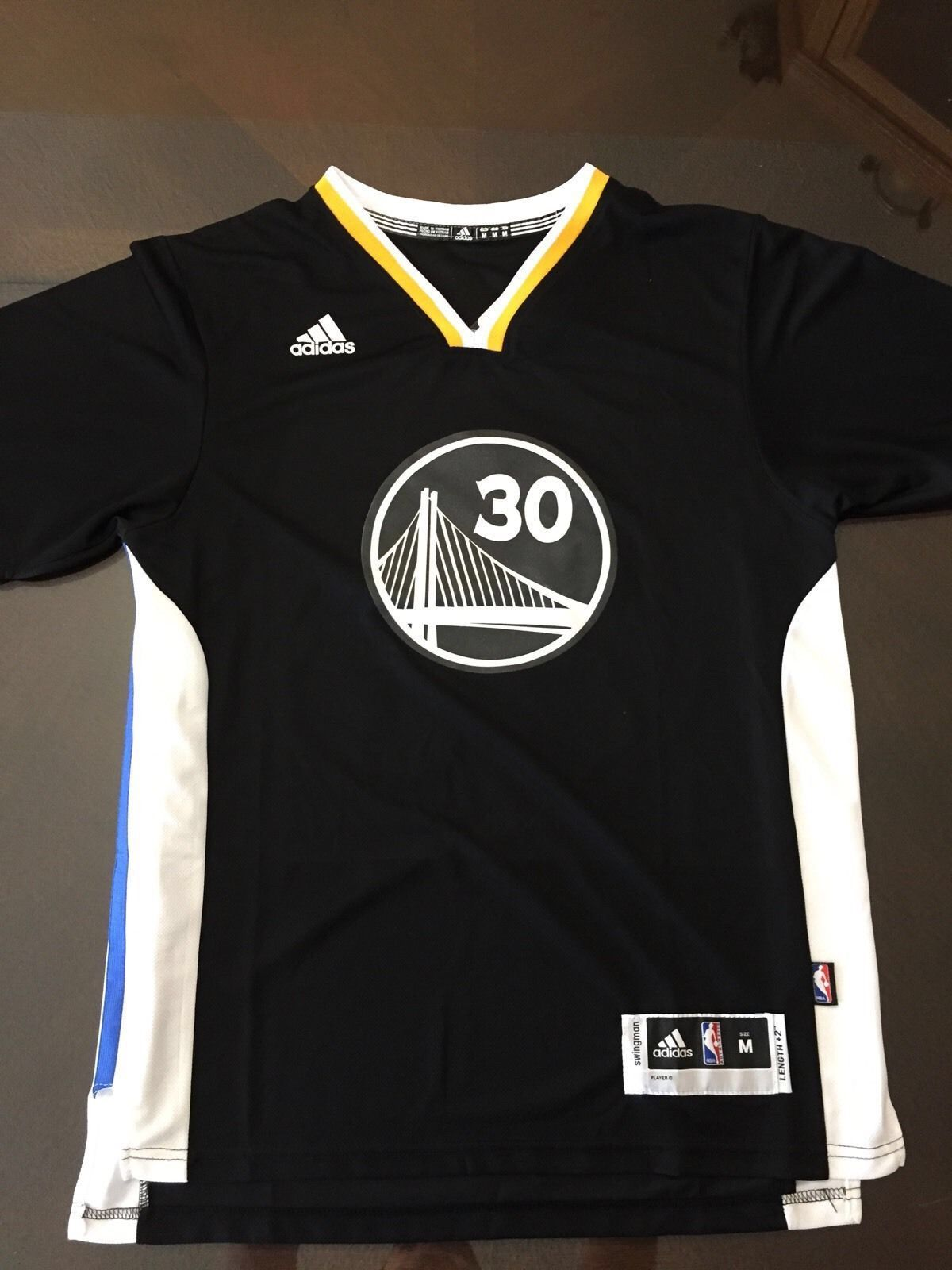 Home all star all star game 2015 comprare canotta nba all - Stephen Curry Golden State Warriors Mens Nba Basketball T Shirt 2015 Jersey Black