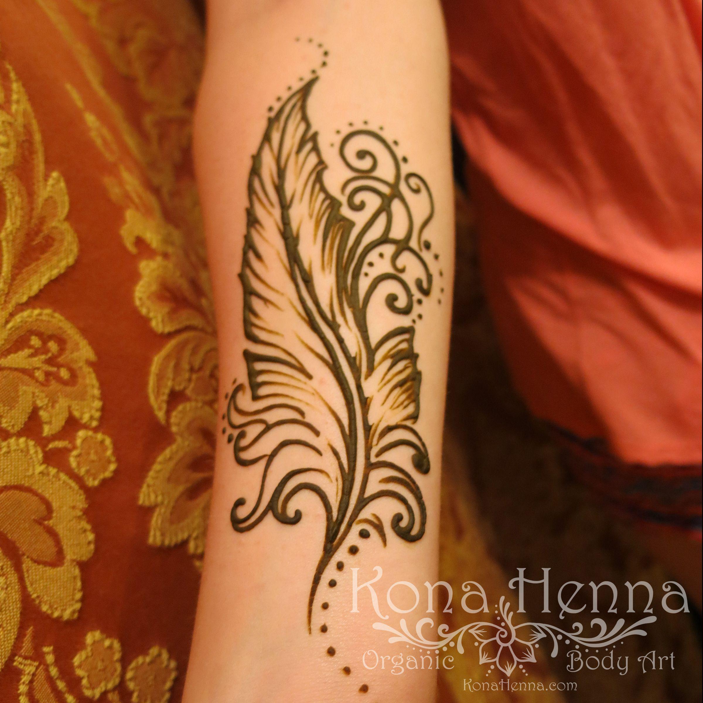 Lower Arm Henna Tattoo: Organic Henna Products. Professional Henna Studio