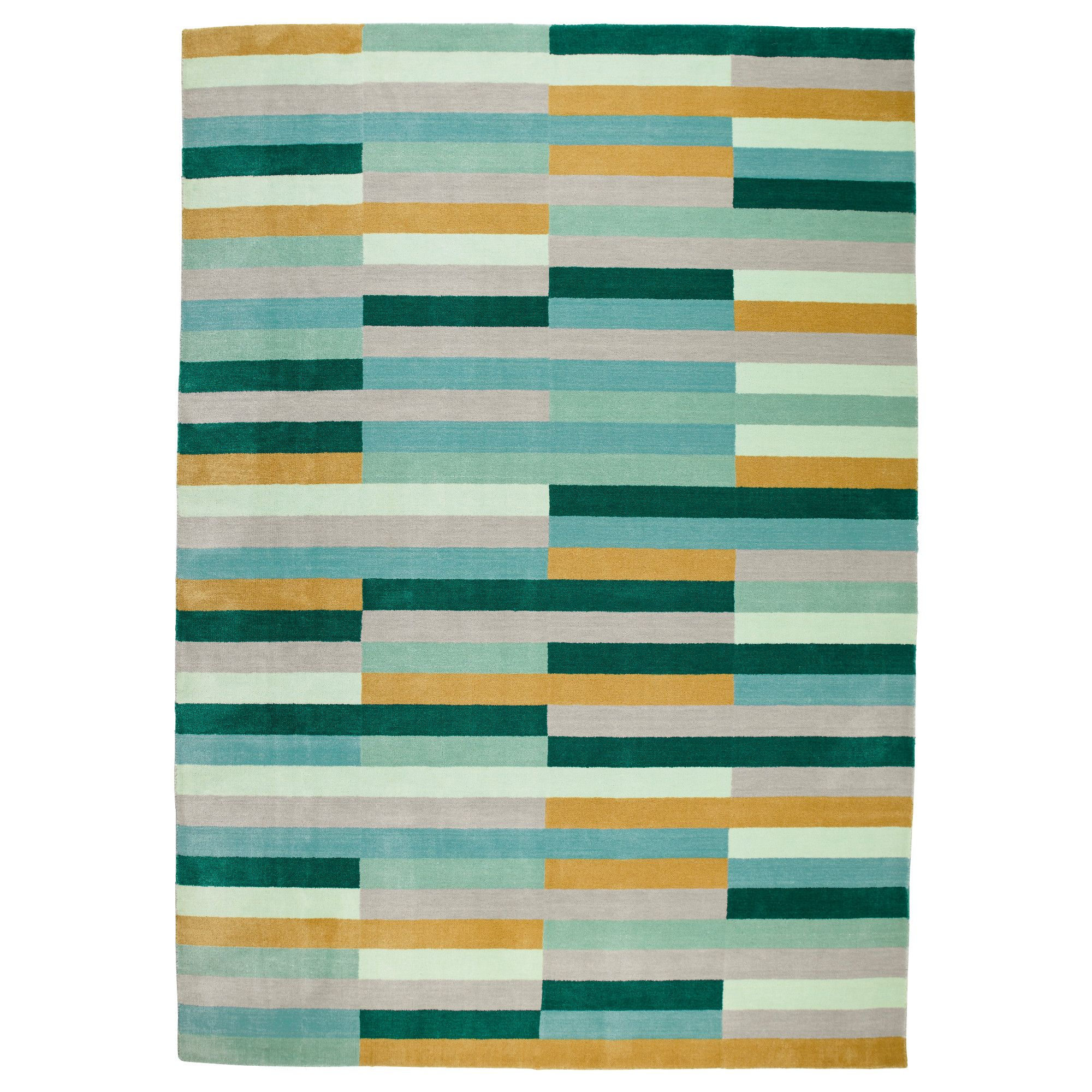 KRÖNGE Rug, low pile, handmade, multicolor | Apartments and Kitchens